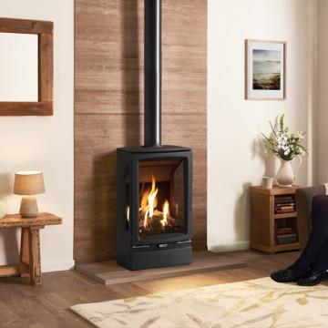 Gazco Vogue Midi T Balanced Flue Gas Stove Flames Co Uk
